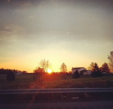 En route to Harrisburg, PA.